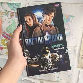Dr who book hardcover