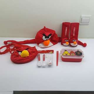 Angry bird sets (8 items)
