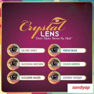 Vasia Crystal Lens V'Asia - 6 Colors Available