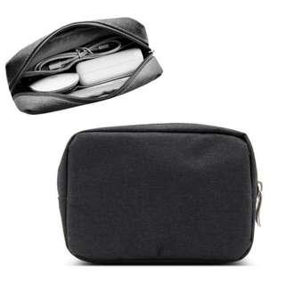 Brand New Portable Travel Digital USB Cable & charger / Storage Bag / Cable Storage Bag (Black/Grey color)