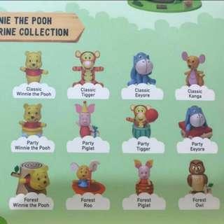 Winnie the Pooh figurine 7-Eleven