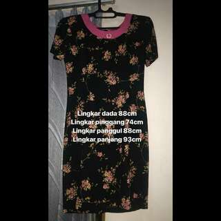 Black Rose Dress