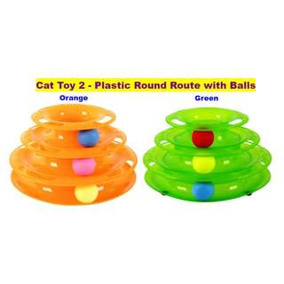 Plastic Round Route with Balls
