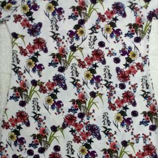Floral Dress Different Sizes Available Materials Cotton Soft Expandeble Retail P210 Wholesale 6pcs up P200