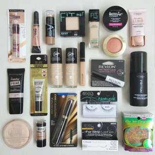 Clearance! Assorted Branded Makeup Cosmetics
