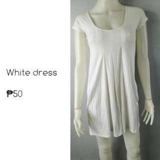 White dres