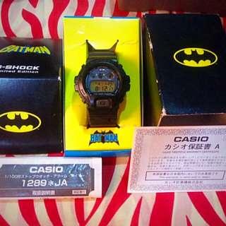 Batman the Dark Knight x CASIO G-Shock