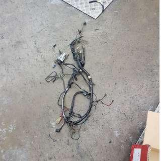 Yamaha 125Z Wiring Harness
