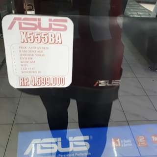 Cicilan TANPA CC Asus X555BA free 1x angsuran