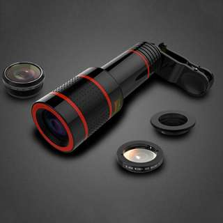 HD 12X Zoom Mobile Phone Telephoto Lens