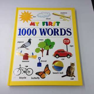 My First 1000 Words Hardcover