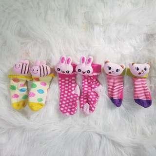 Cute socks 3pairs