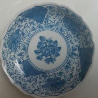 Small vintage saucer