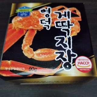 韓國蟹膏醬