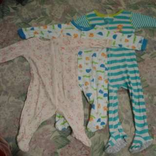 take all for only 120pesos jumpsuit 3 to 18months