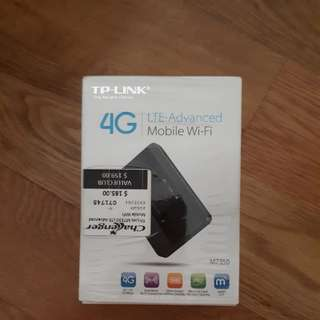 4G tp link portable router