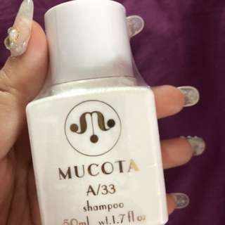 Brand new sealed Mucota A33 shampoo