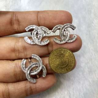 Chanel inspired authentic Diamonds
