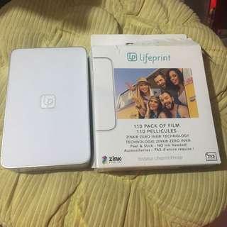 Lifeprint +film (photo printer)