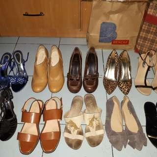 Shoes sandals heels