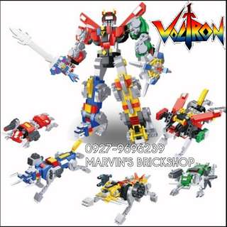 For Sale VOLTRON Building Blocks Toy