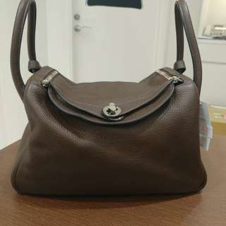 Hermes lindy 30 brown