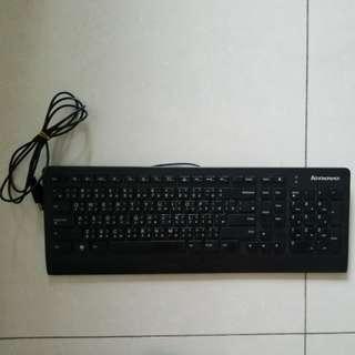 Lenovo usb keyboard usb鍵盤 (黑)