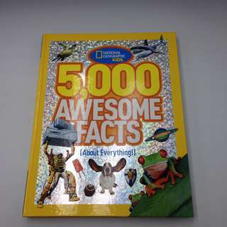 National Geographic 5,000 Awesome Facts Hardcover