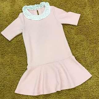 Pink Dress (Made in Korea)