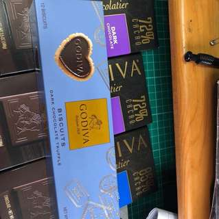 Godiva biscuits dark chocolate truffle