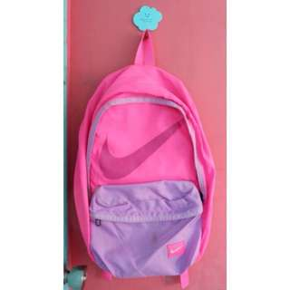 Authentic Nike backpack neon pink purple adidas