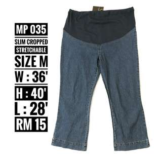 Maternity Jeans - MP 035 ( NP RM 15)
