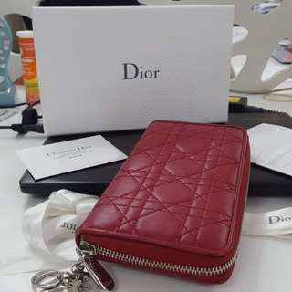 Authentic Christian dior long wallet in pristine condition