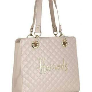 REPRICED! Auth. Harrods Pink Handbag