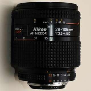 Nikon 28-105mm f/3.5-4.5D AF Nikkor