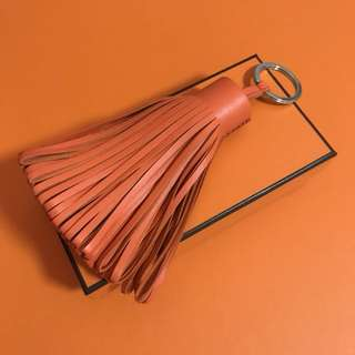 Hermes Alto Carmen Key Holder Orange oppey