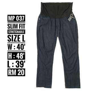Maternity Jeans - MP 037 ( NP RM 20)