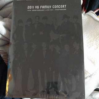 2011YG Family Concert cd+pb