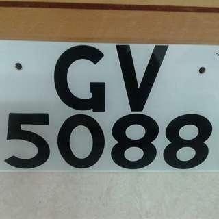 GV5088車牌