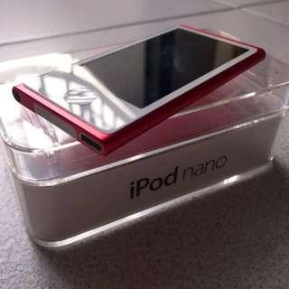iPod Nano (16GB) - 7th Generation (Pink)