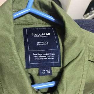 Military jacket. Pull & Bear