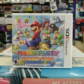 🆕 3DS Mario Party Island Tour