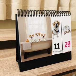 連環泡三寶桌曆