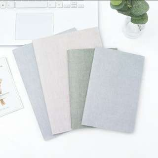 (PO) #S02 Korea Plain Muji Harujuku Notebook A5 / B5