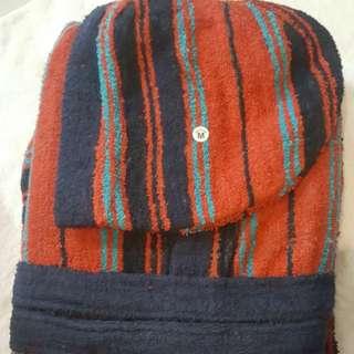 High quality  Promotion 50% off 100% Turkish Cotton soft Terry Kimono Bathrobe