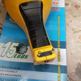 2 pin rechargeable torchlight