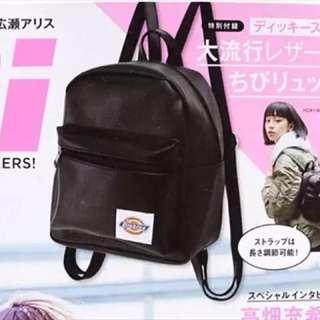 日本雜誌附錄Dickies背包 (不連雜誌)