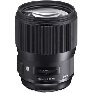 Sigma 135mm f/1.8 DG HSM Art Lens for Canon and nikon