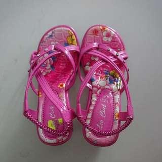Pink sandals
