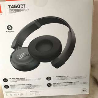 JBL wireless Headphone T450BT
